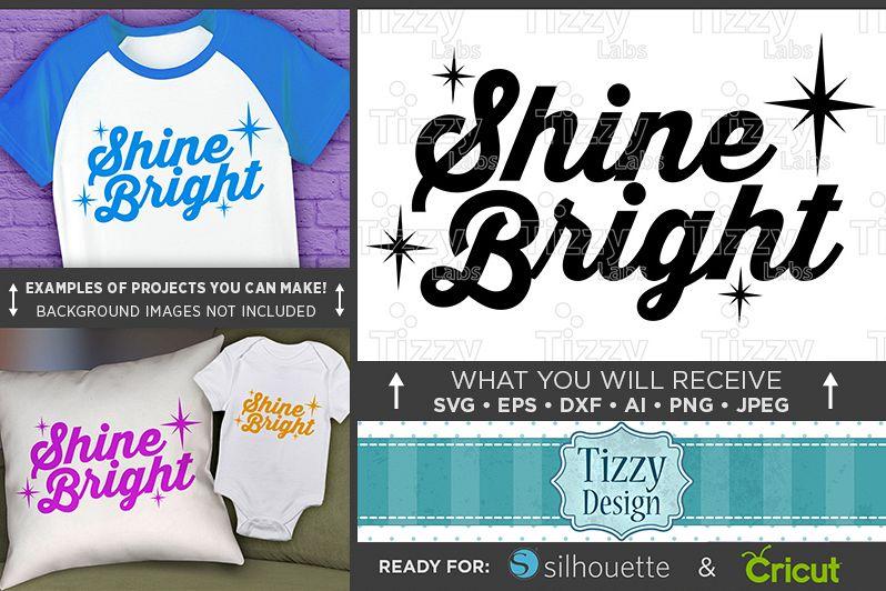 Shine Bright SVG - Shine Bright Like A Diamond SVG - 1023 example image 1