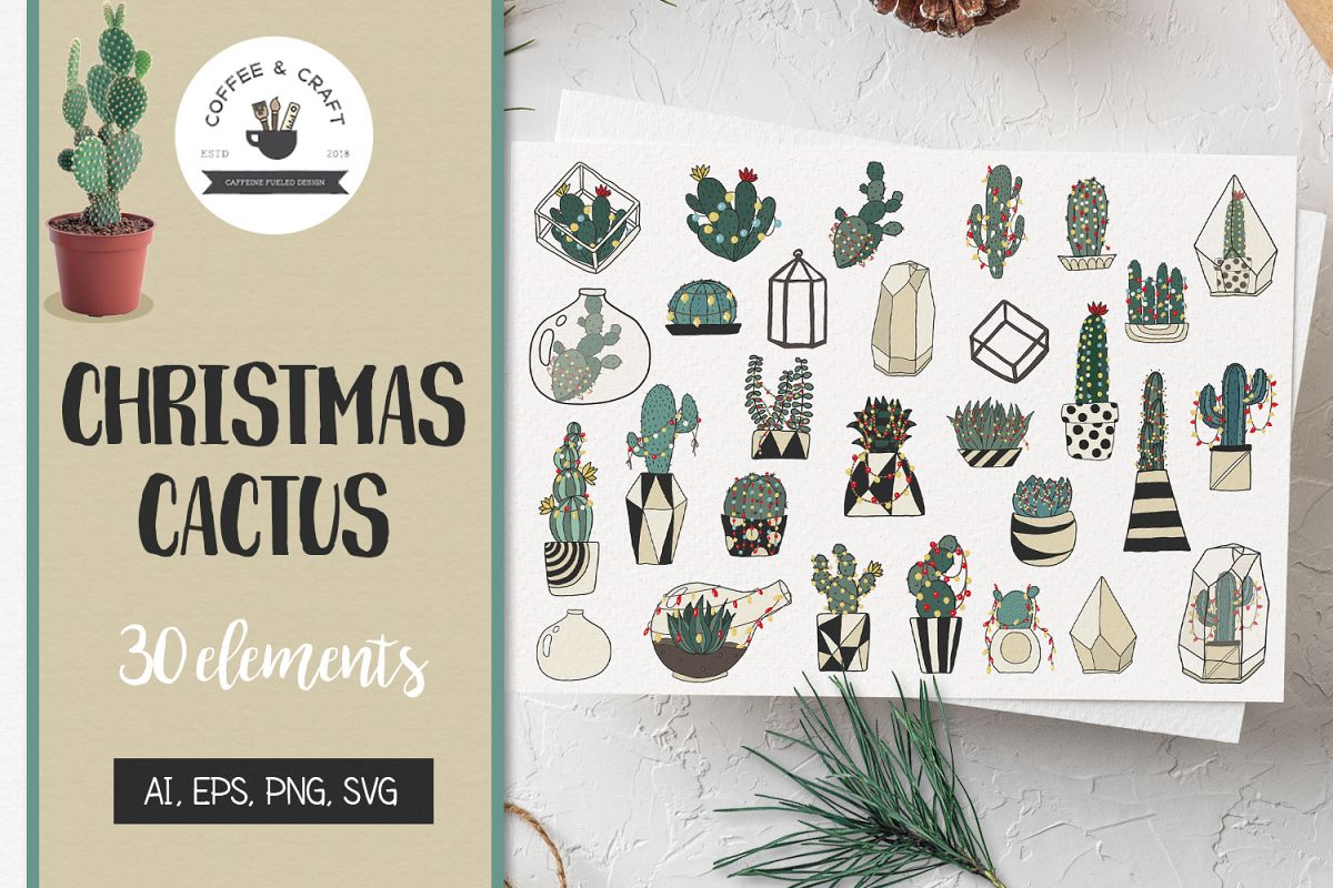 Christmas Cactus example image 1