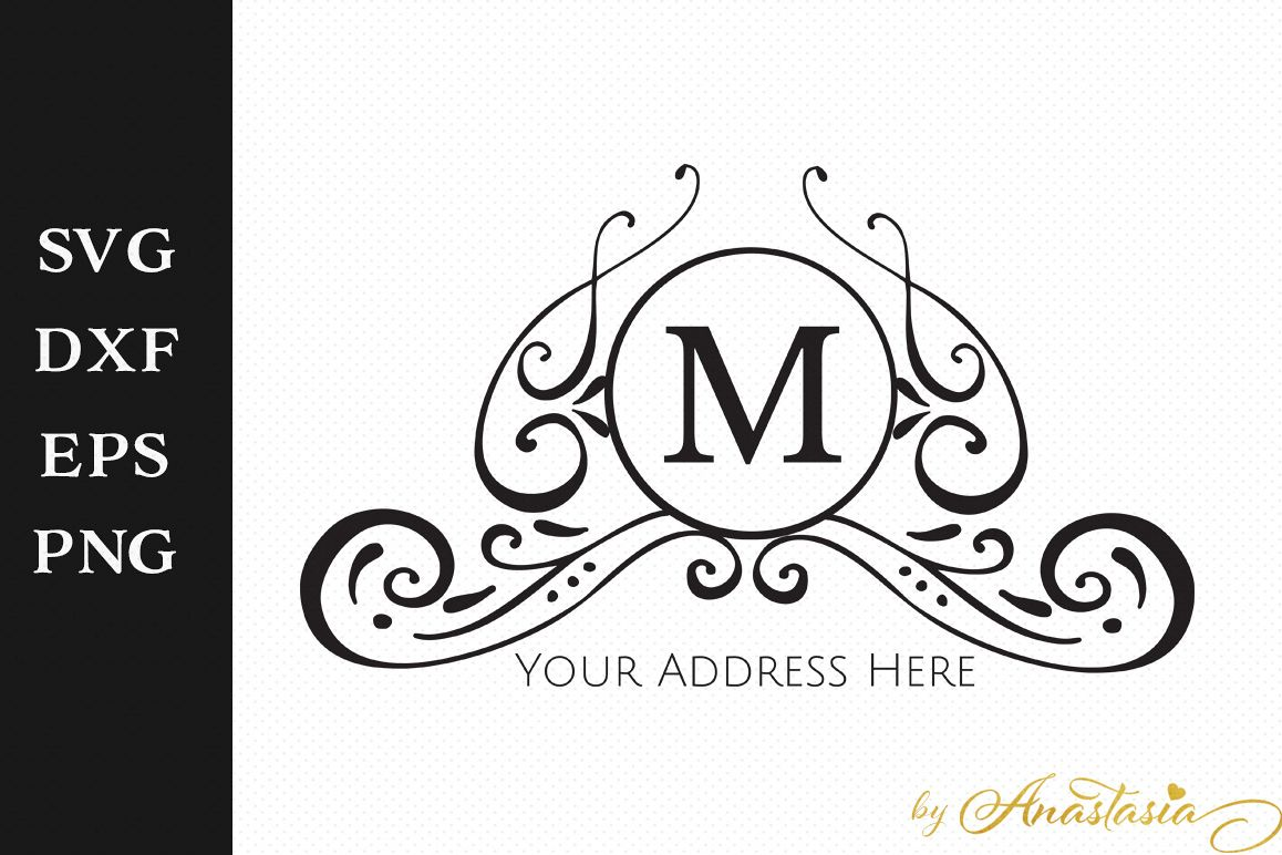 Mailbox Decal Cut File - Home Sign SVG example image 1