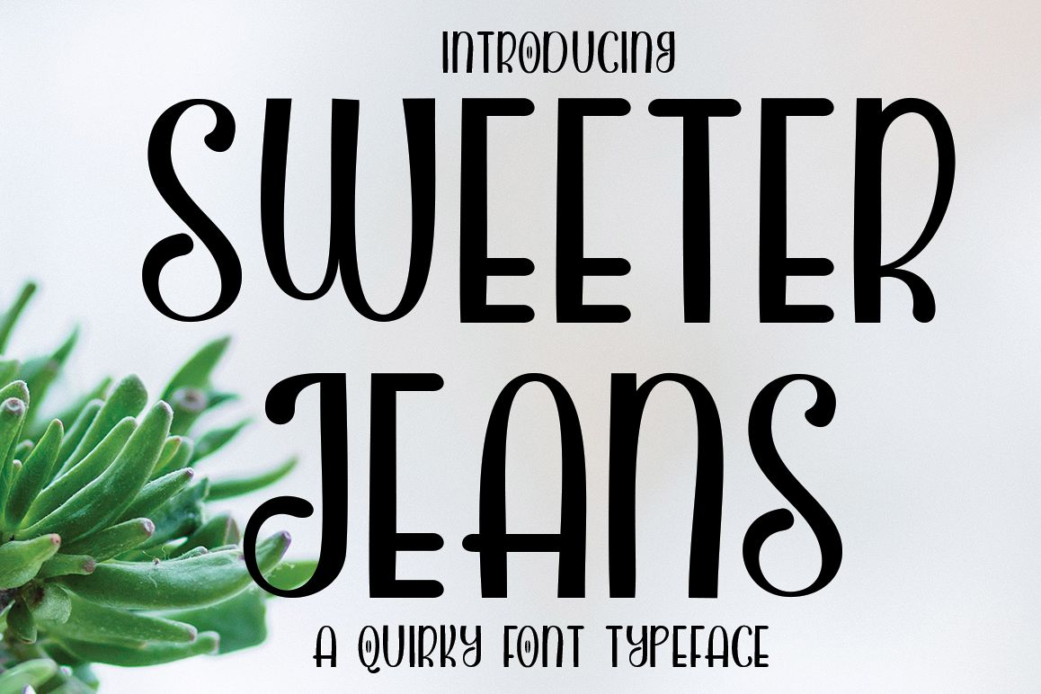 SWEETER JEANS example image 1