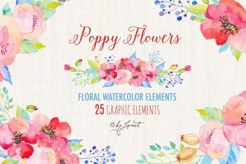 Poppy Flower example image 1