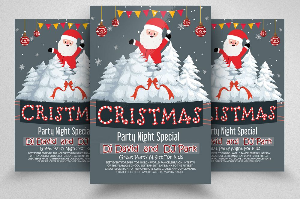 Merry Christmas Flyer example image 1