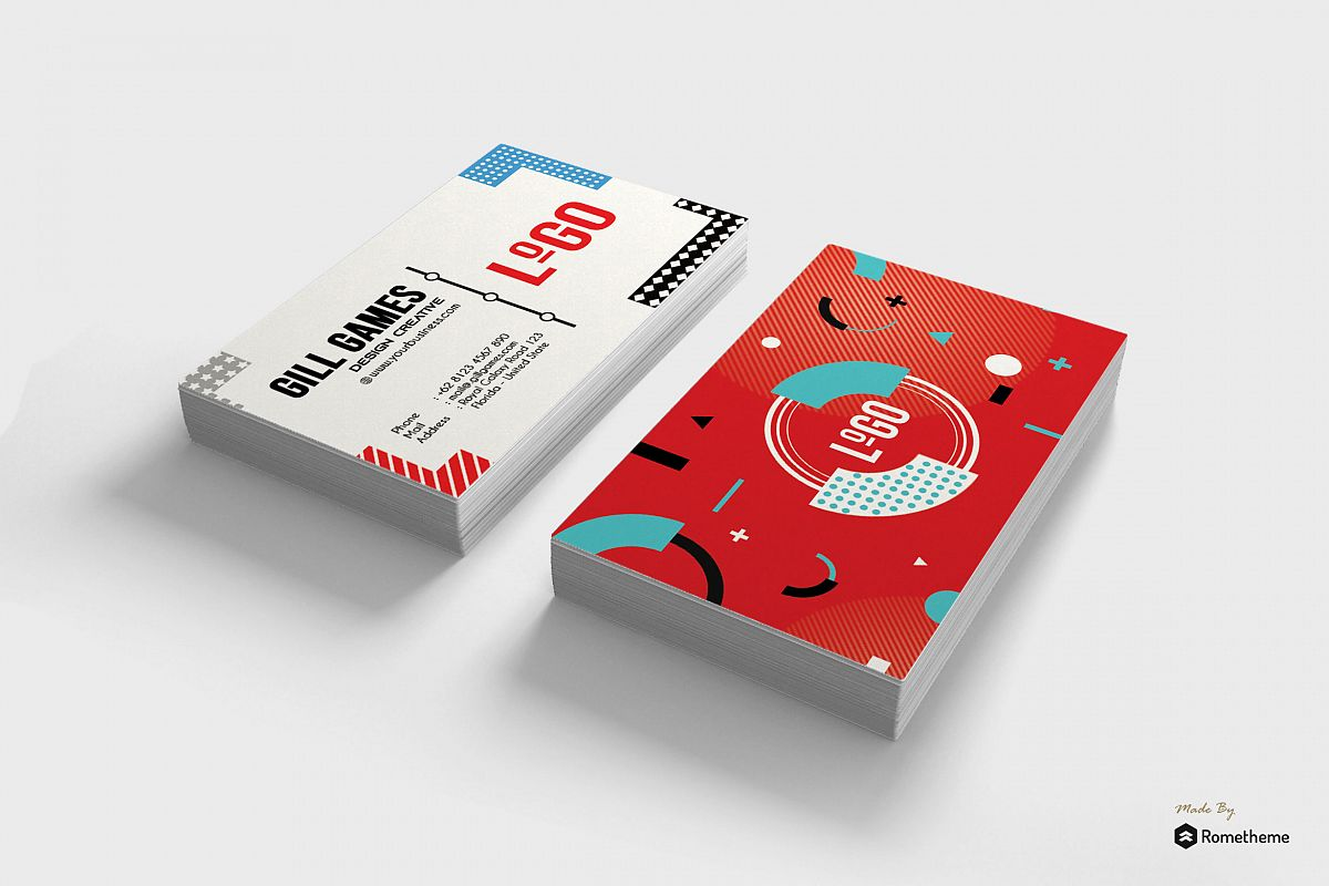 Business Card vol. 18 example image 1