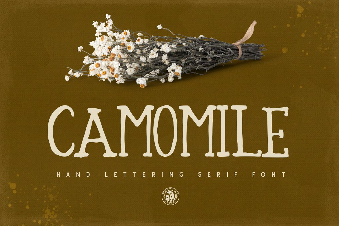 Camomile Font example image 1