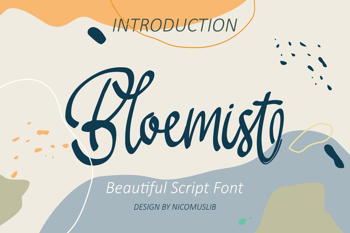 Bloemist Font example image 1