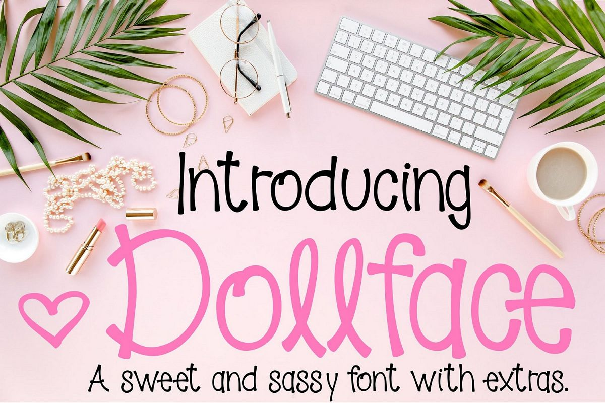 Dollface Font example image 1