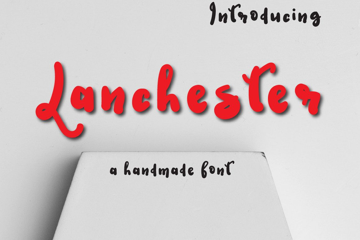 Lanchester Typeface example image 1