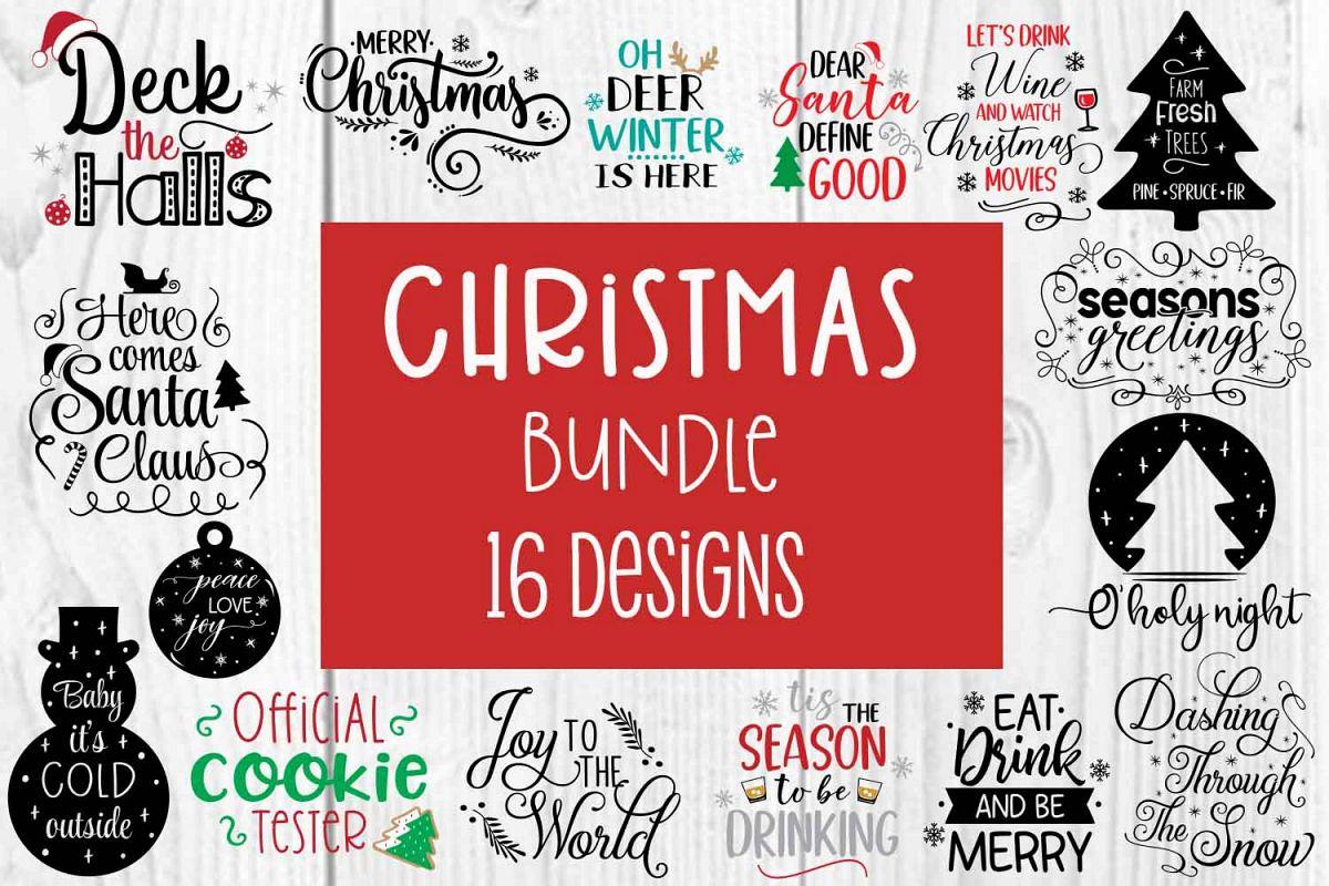 Christmas Holiday Bundle example image 1