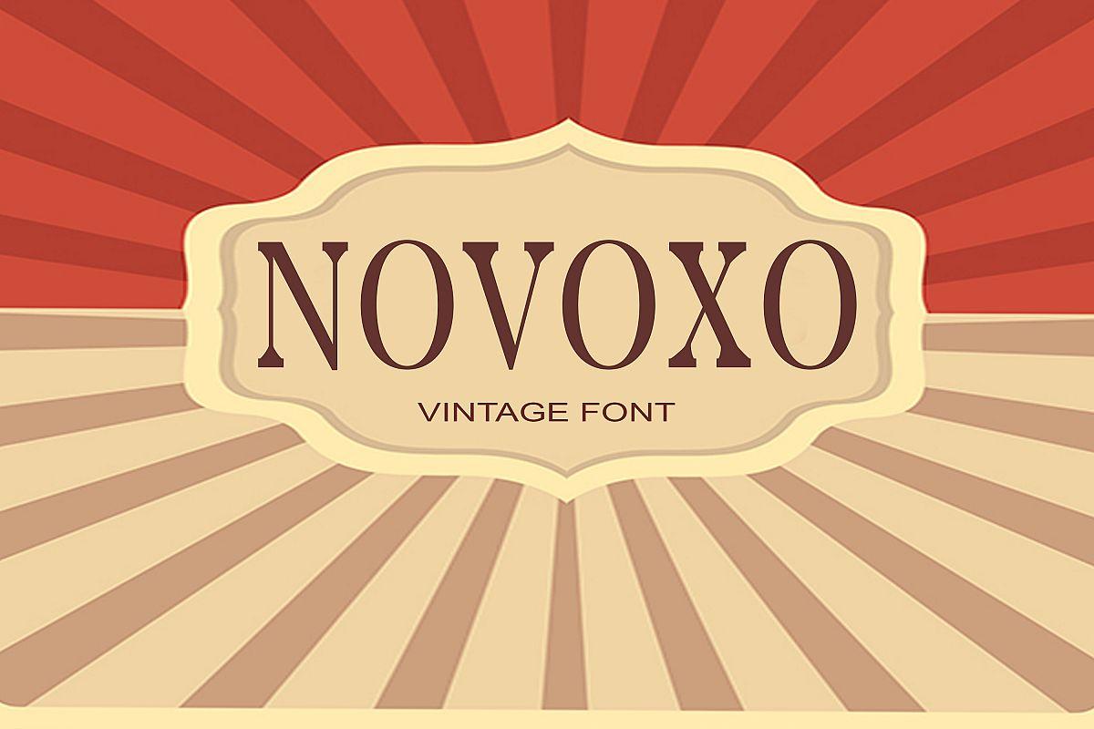 Novoxo Font example image 1