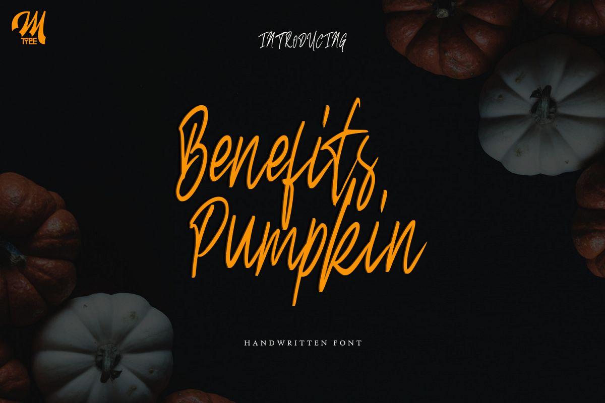 Benefits pumpkin Script example image 1