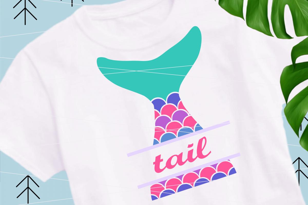 Mermaid Tail svg example image 1