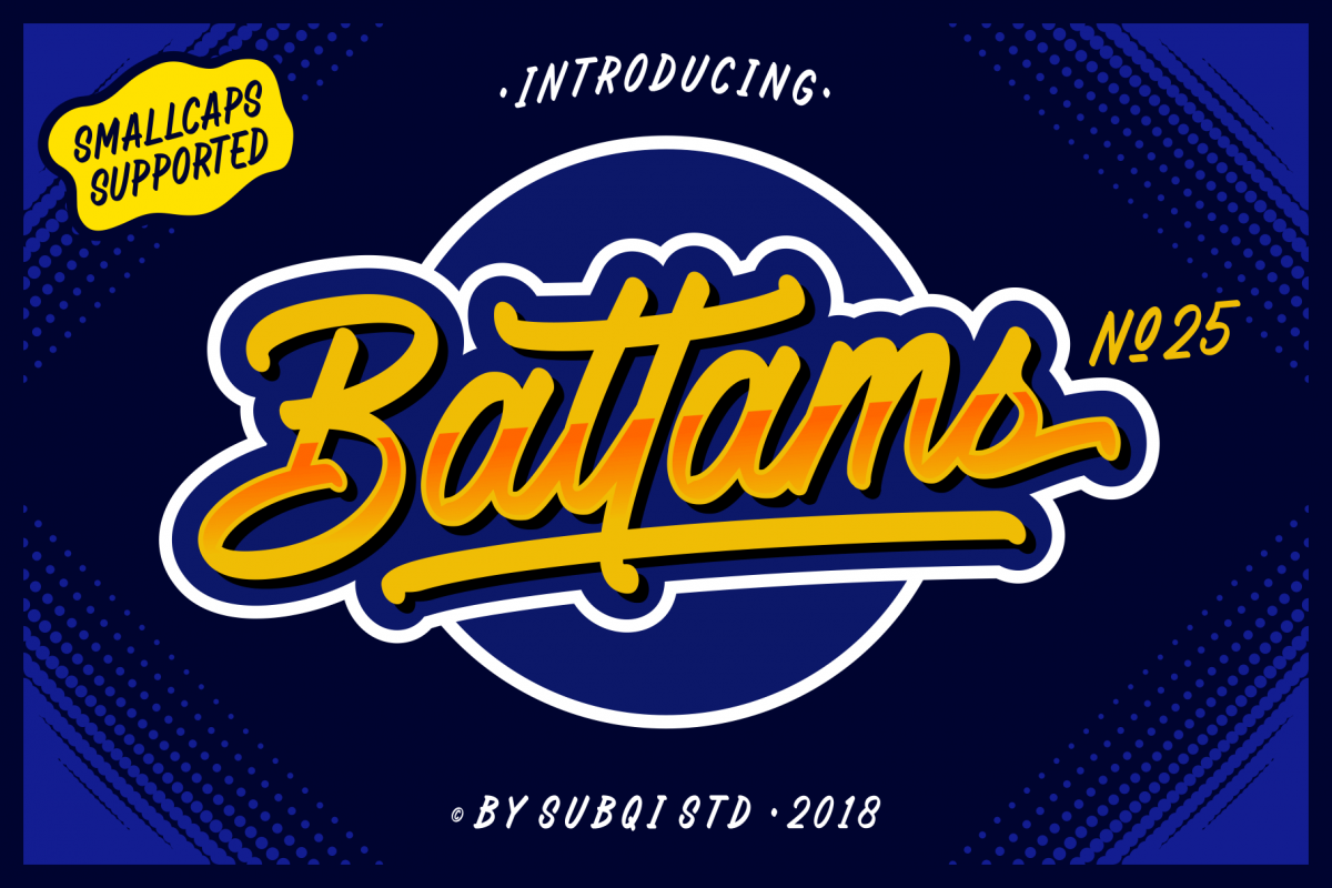 Battams No 25 Pro example image 1
