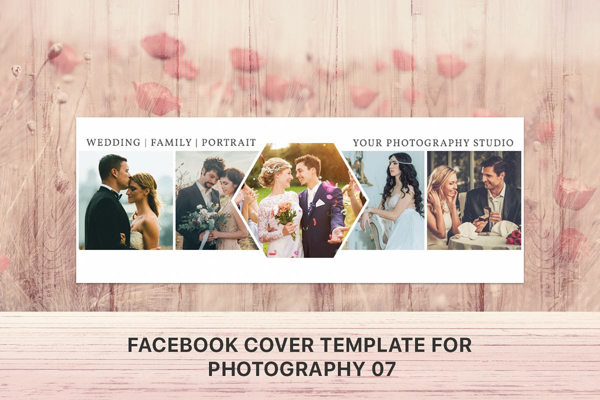 Facebook Cover Template For Photography 07