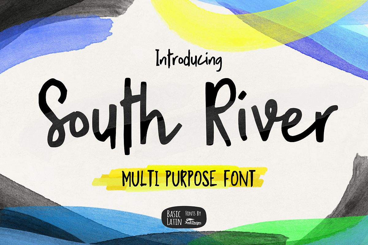 South River Font example image 1