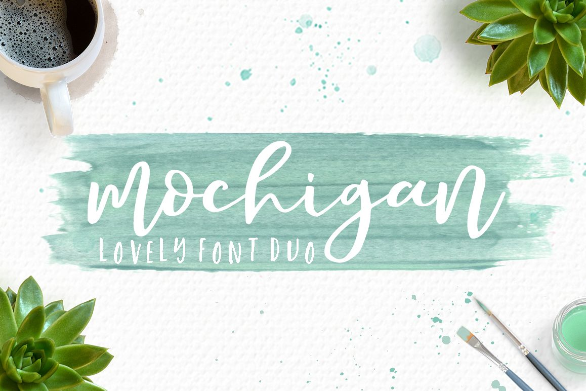 Mochigan Font Duo example image 1