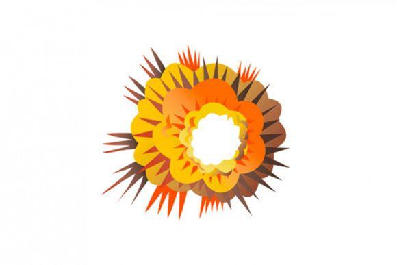 Bomb Explosion Retro example image 1