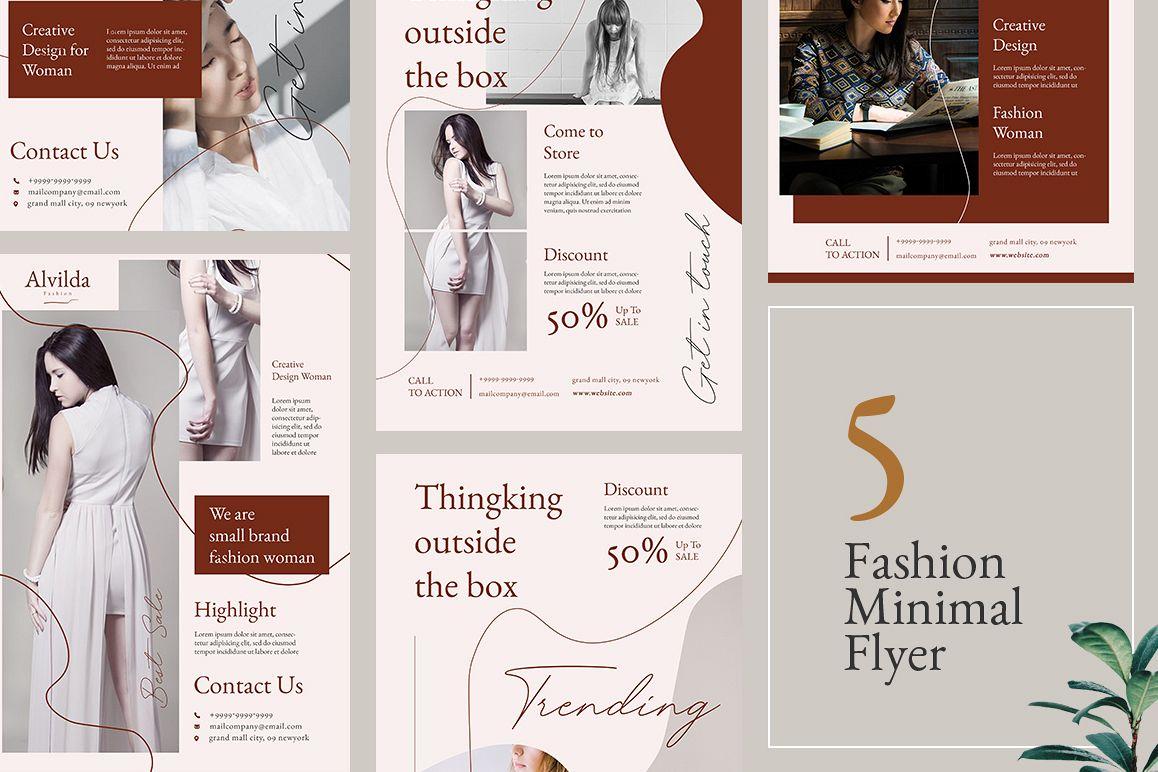 Alvida Flyer Templates example image 1