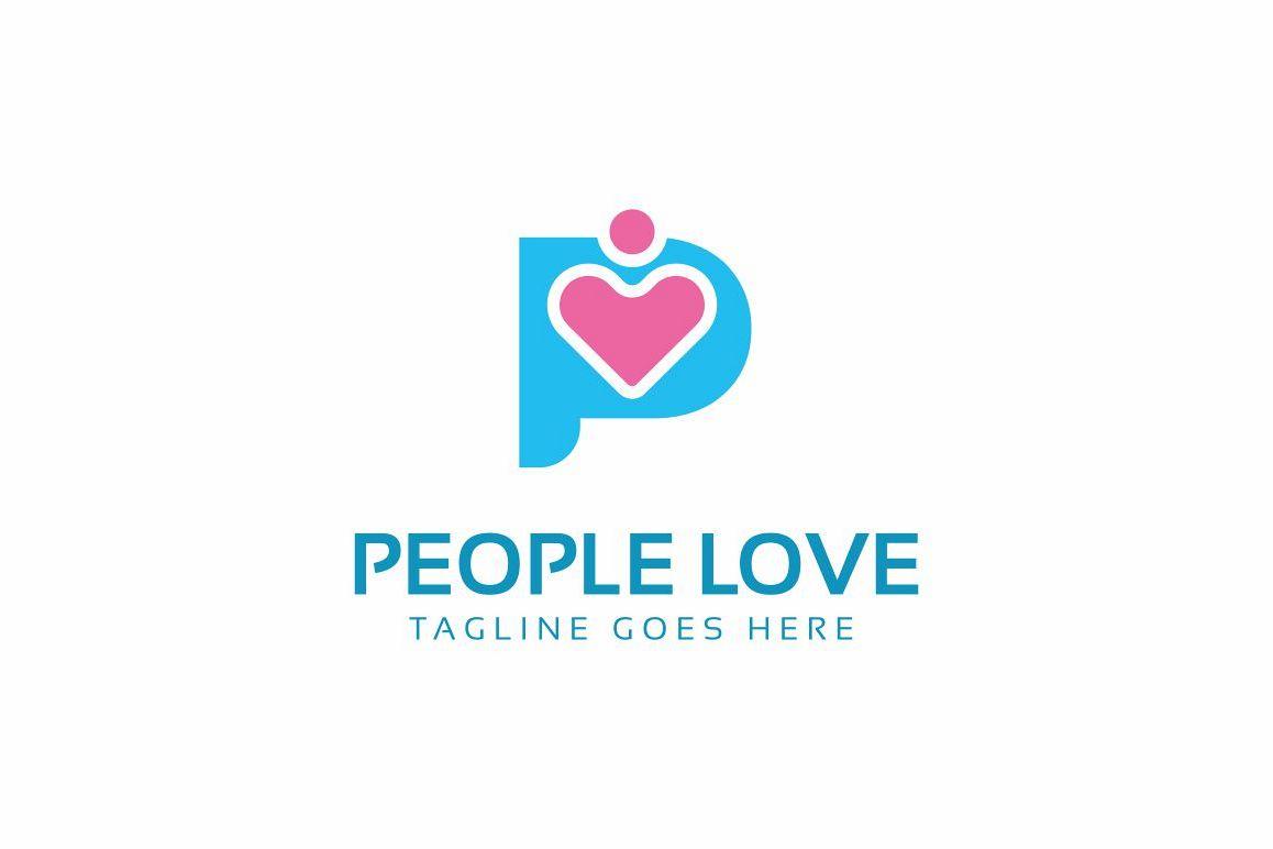 People Love Logo example image 1