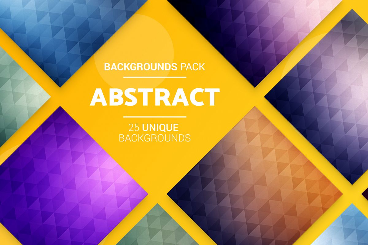 25 Abstract Backgrounds example image 1