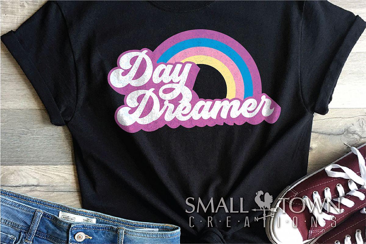 Day Dreamer, Rainbow, Vintage, 70's, PRINT, CUT & DESIGN