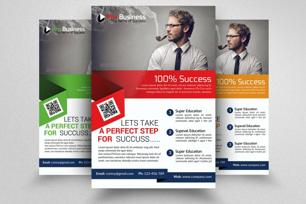 Corporate Flyer Psd example image 1
