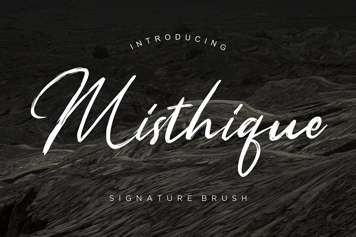 Misthique Signature Brush example image 1