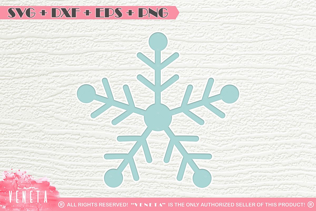 Snowflake Svg Dxf Eps Png Cutting Fi Design Bundles