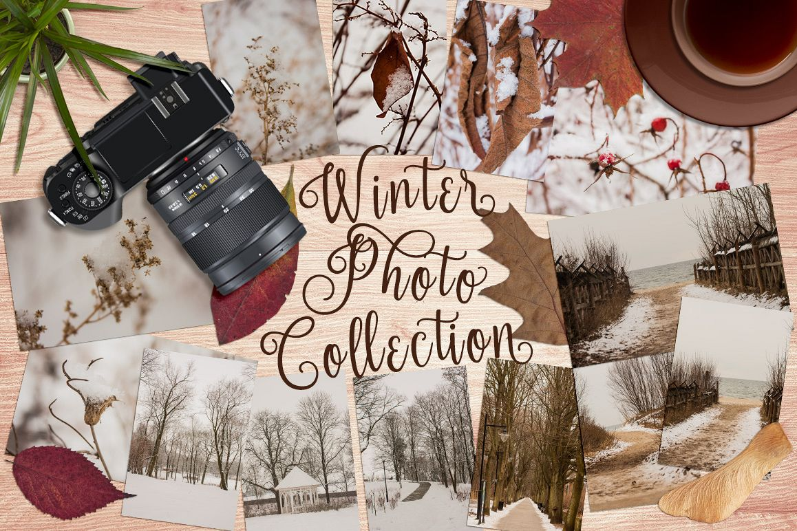 Winter Photo Collection example image 1