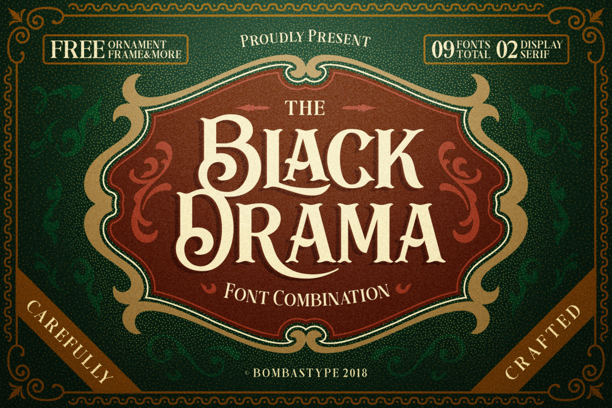 Black Drama Combination  Extras example image 1
