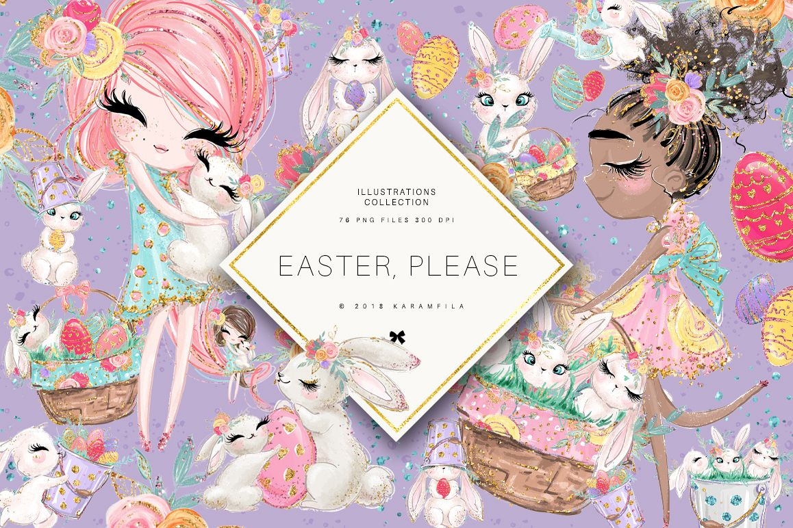 Easter Clipart example image 1