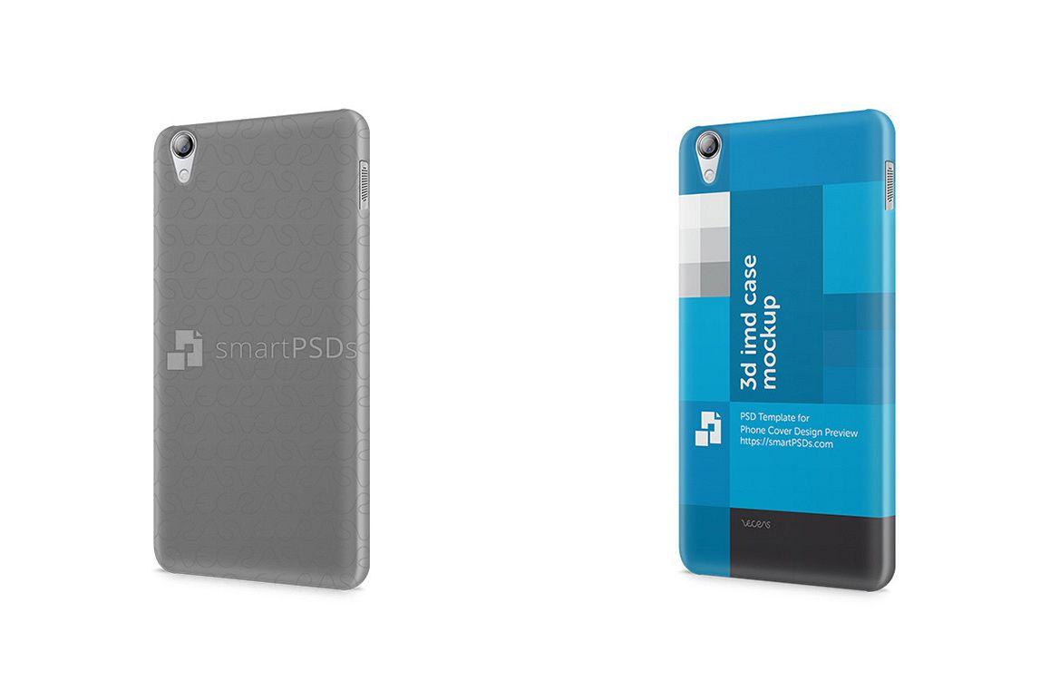 Lenovo S850 3d IMD Mobile Case Design Mockup 2014 example image 1