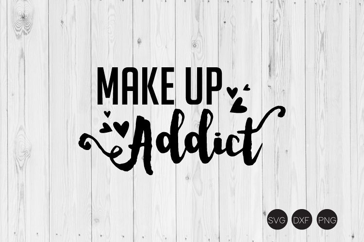 Make Up Addict SVG example image 1
