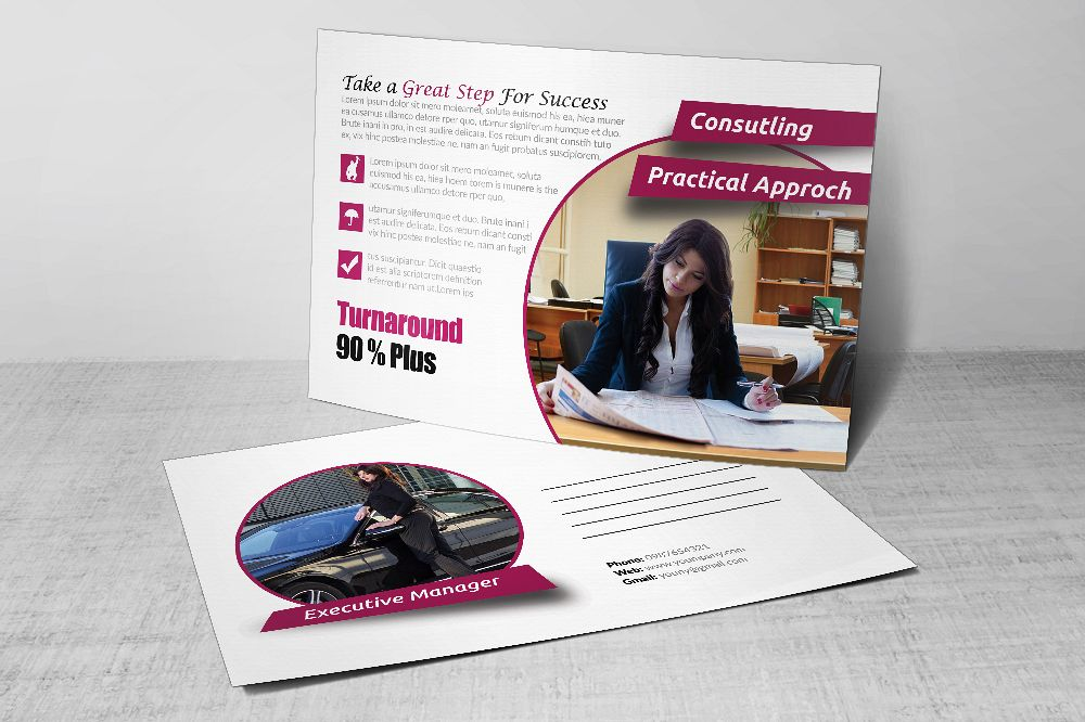 Business Postcards Template example image 1