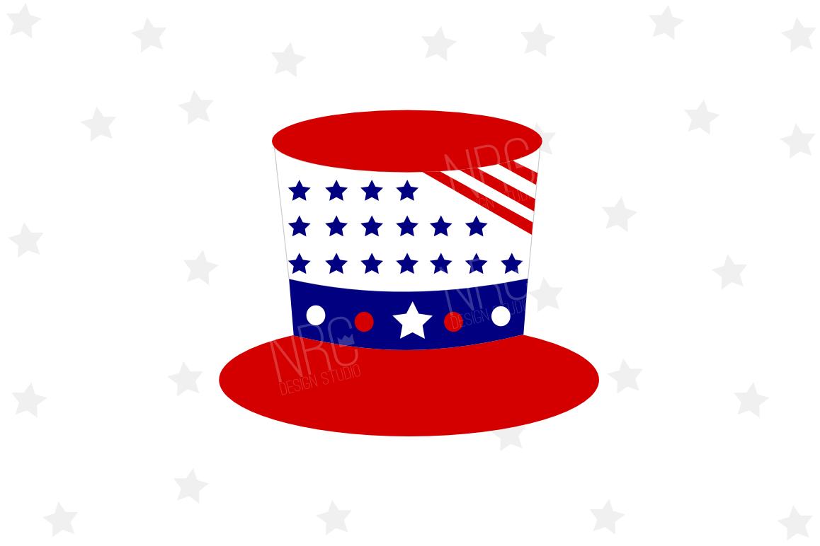 Patriotic Hat SVG File example image 1