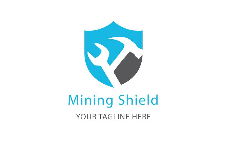 Mining Shield Logo example image 1