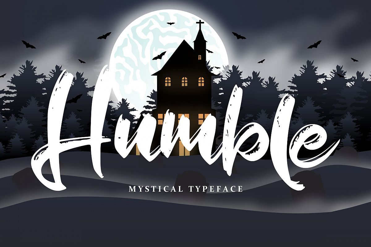 Humble | Mystical Typeface example image 1