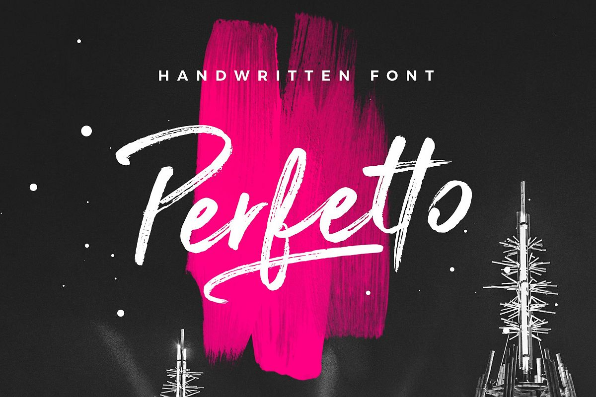 Perfetto Brush Font example image 1
