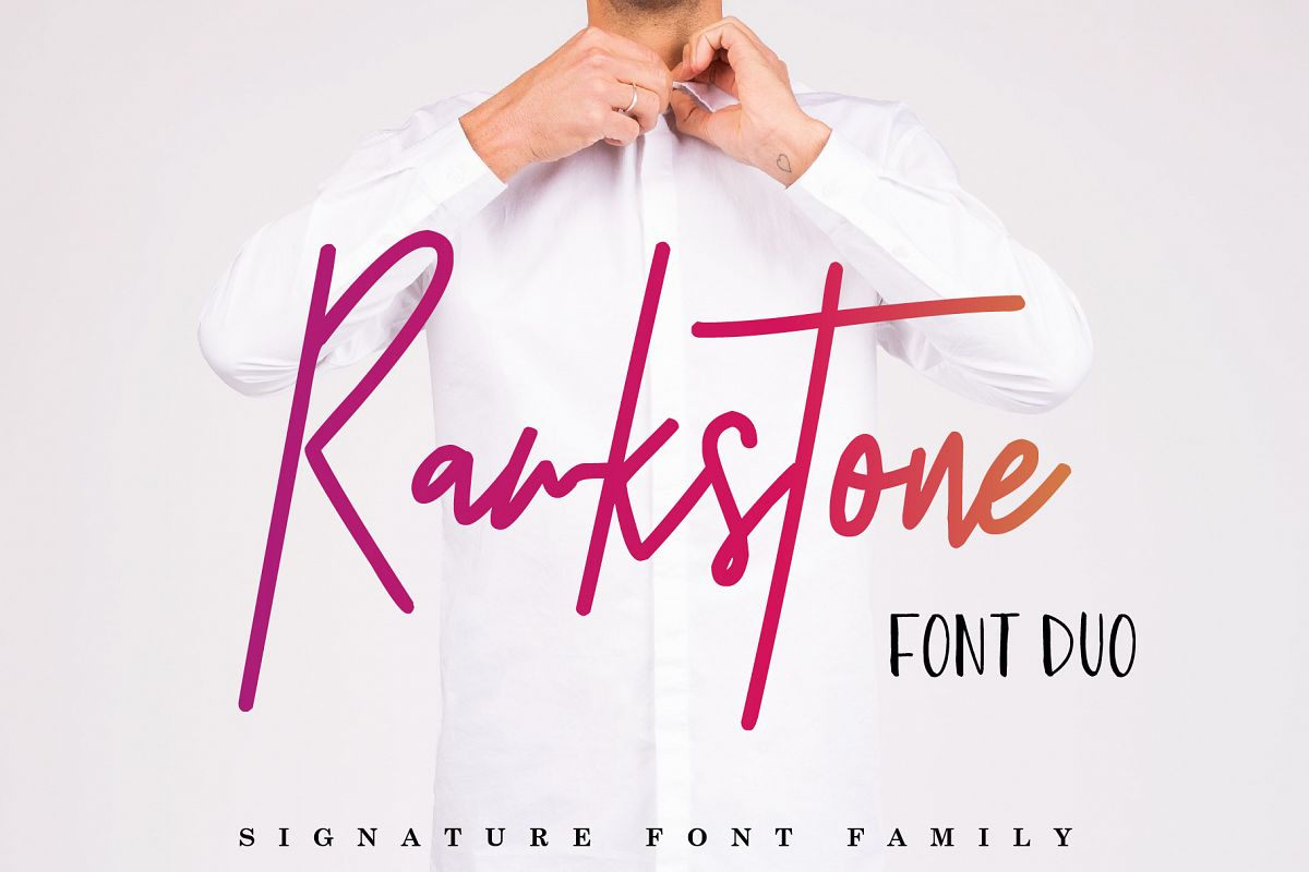 Rawkstone Font Duo example image 1