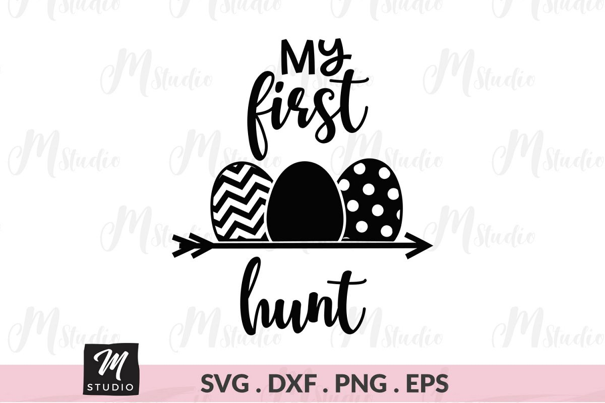 My first hunt svg. example image 1
