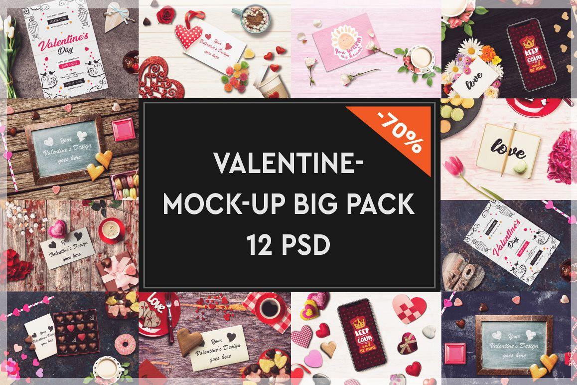 Valentine Mock-up Big Pack #2 example image 1