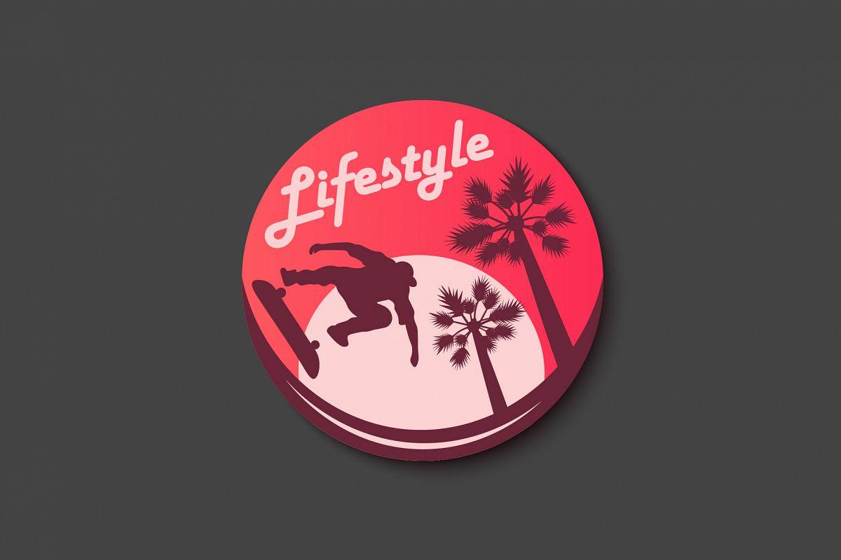 Skateboarding Sticker example image 1