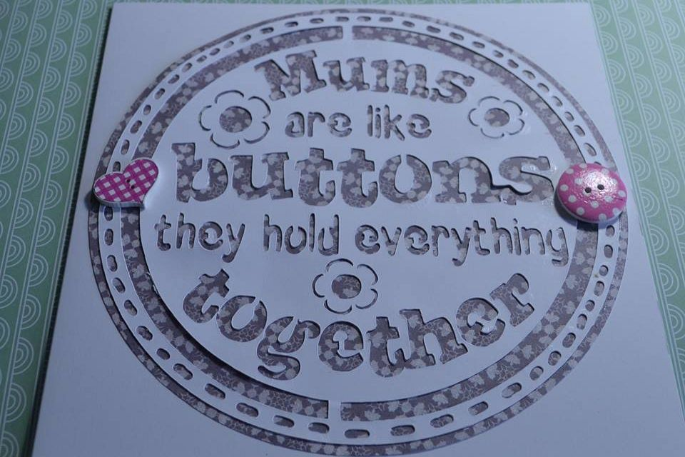 MUMS are like buttons they hold everything together example image 1