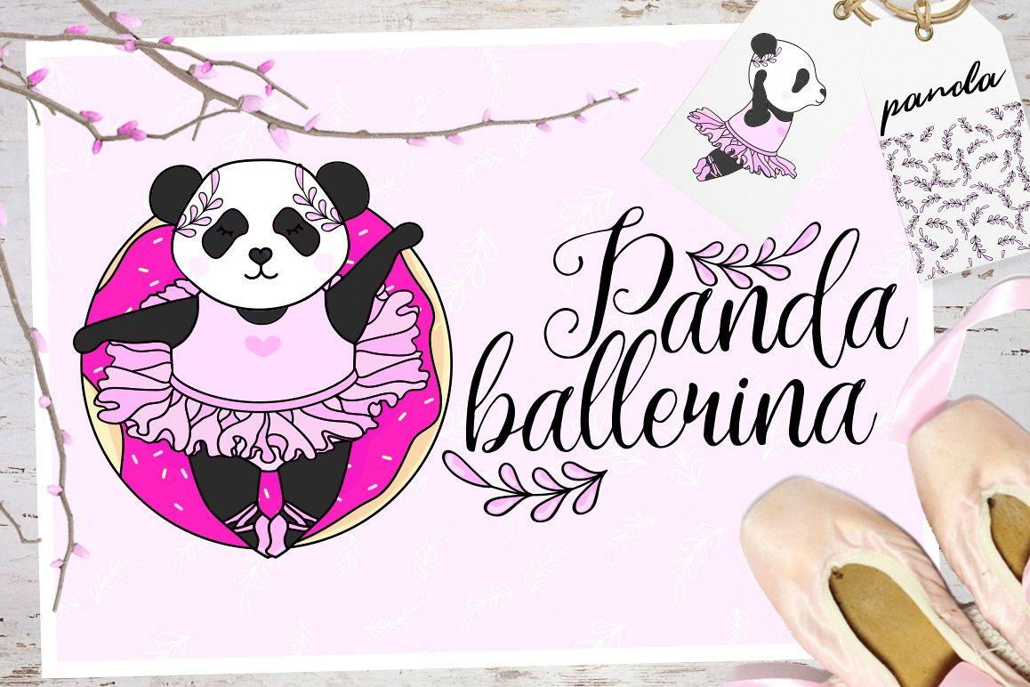 Panda Ballerina Set example image 1