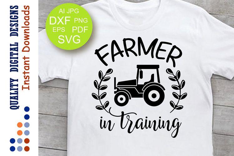 Farmer in training Svg Little Farmer Svg example image 1