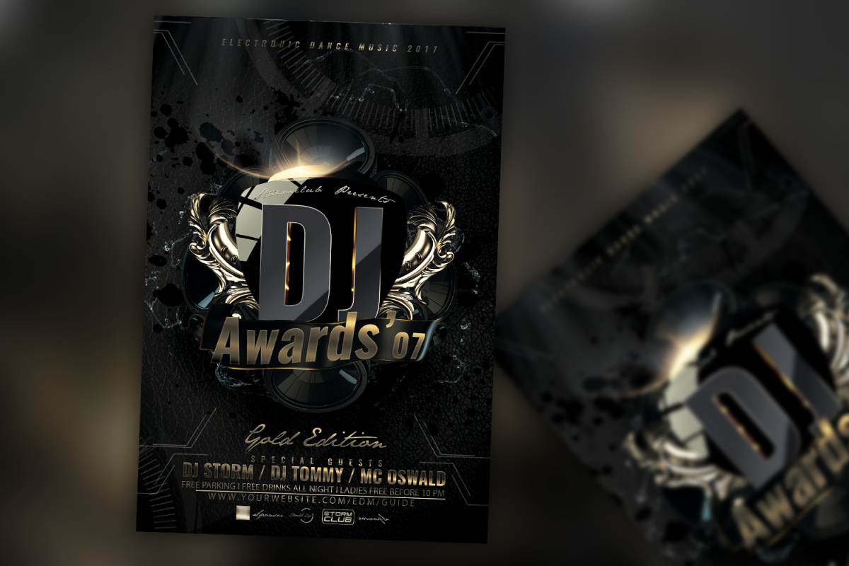 DJ Awards Flyer example image 1