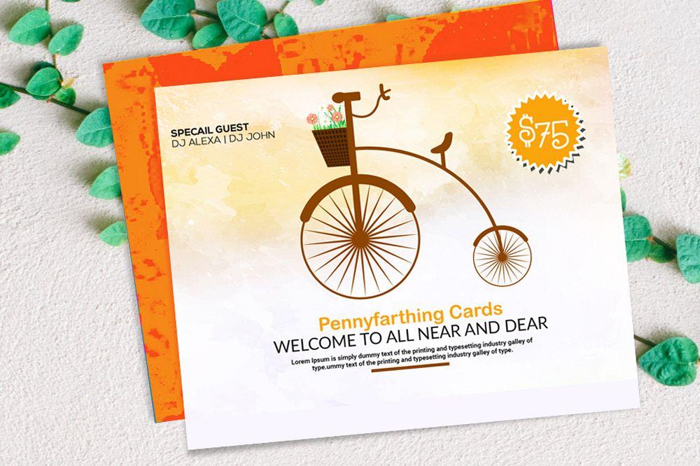 Invitation Card Template example image 1