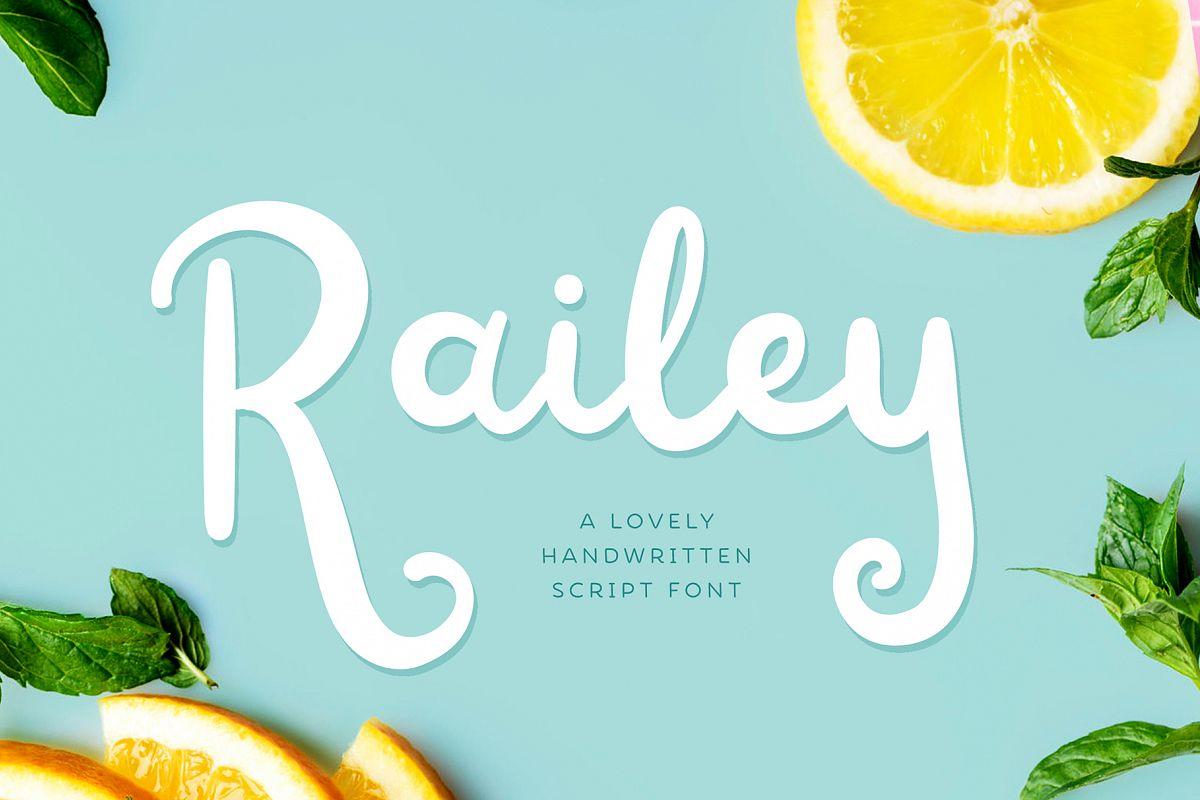 Railey Script example image 1