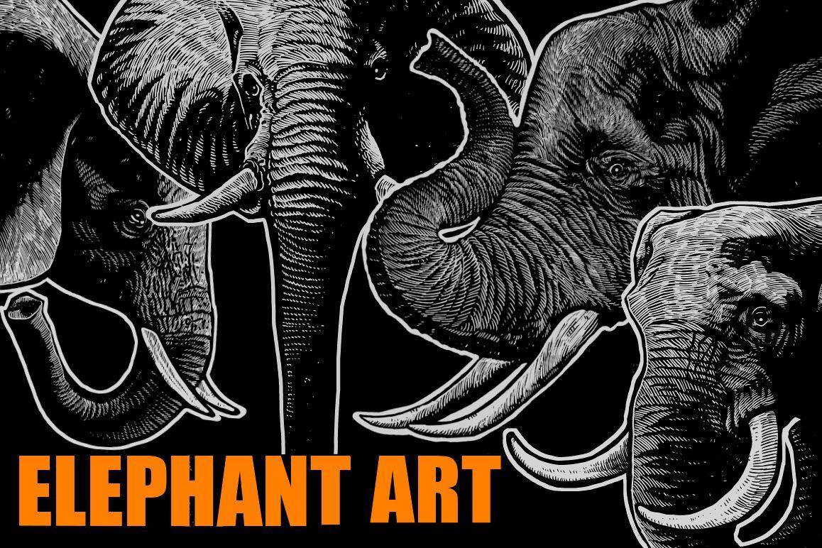 Elephant Art example image 1