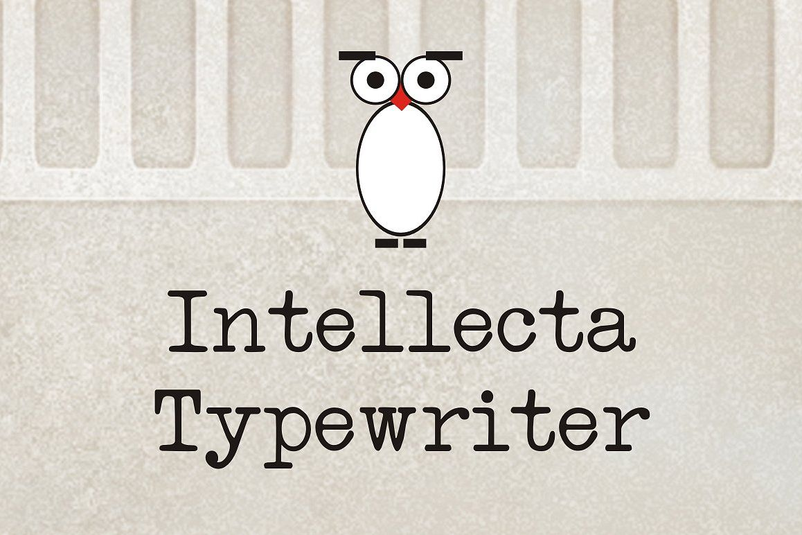 Intellecta Typewriter example image 1