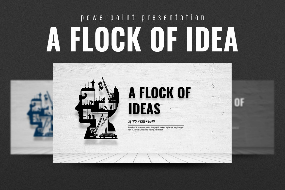 Idea PowerPoint Template example image 1